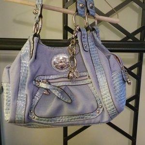 Kathy Van Zeeland handbag, light blue